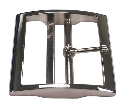 "Square Double Bar Buckle Nickel Plate (2"") Starting At:"
