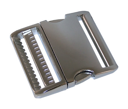 """Aluminum Side Release Buckle Nickel Plate (2"""") Starting At:"""