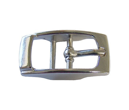 "Square Double Bar Buckle Nickel Plate (3/8"") Starting At:"