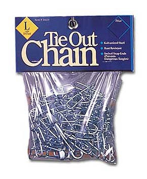Tie Out Chains Starting At: