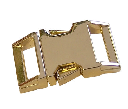 "Zinc Diecast Side Release Buckle Brass Plated (3/4"") Starting At:"
