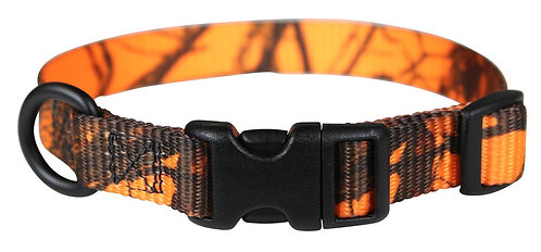 Mossy Oak Blaze Camo - Adjustable Collar