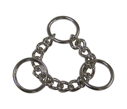 """3.0 (6"""") W-1"""" Martingale Ring Nickel Plate Starting At:"""