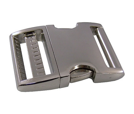 """Aluminum Side Release Buckle Nickel Plate (1-1/2"""") Starting At:"""