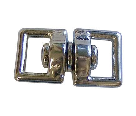 "Square Eye Swivel Nickel Plate (1/2"") Starting At:"