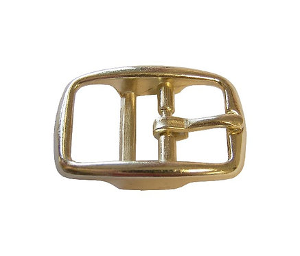 "Round Double Bar Buckle Brass Plated (1"") Starting At:"