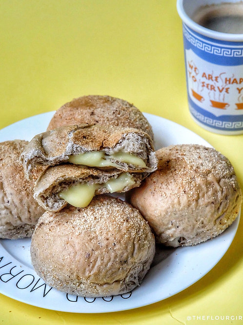 TRUFFLE Pandesal with Cheese