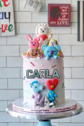 BT21 Cake