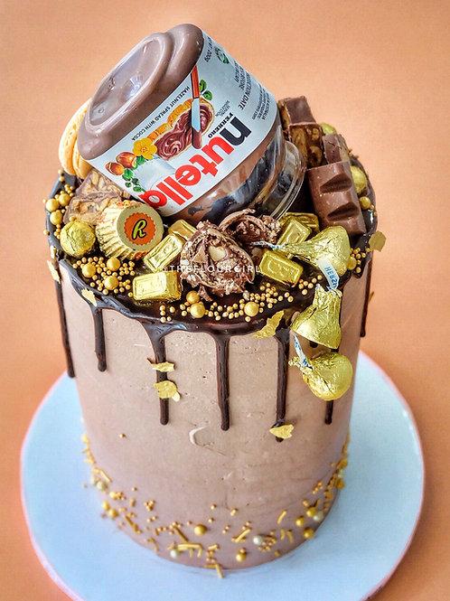NAUGHTY-TELLA DRIP CAKE