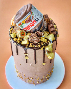 Naughty-tella Cake