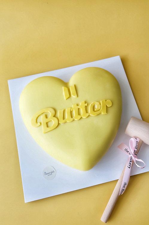 BTS-inspired BUTTER SMASH CAKE