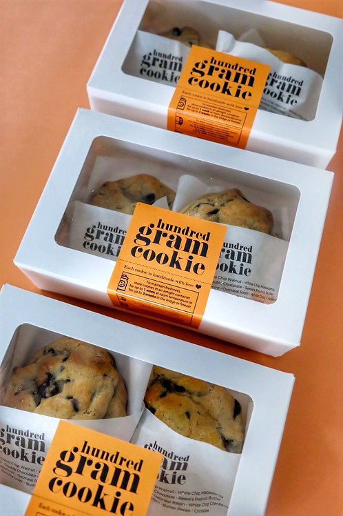 Hundred Gram Cookie™ for TWO -SET OF 3
