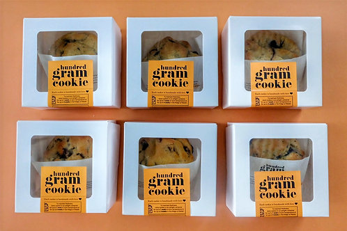 Hundred Gram Cookie for One -SET OF 6