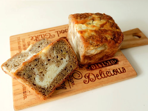 BANANA CREAM CHEESE BREAD