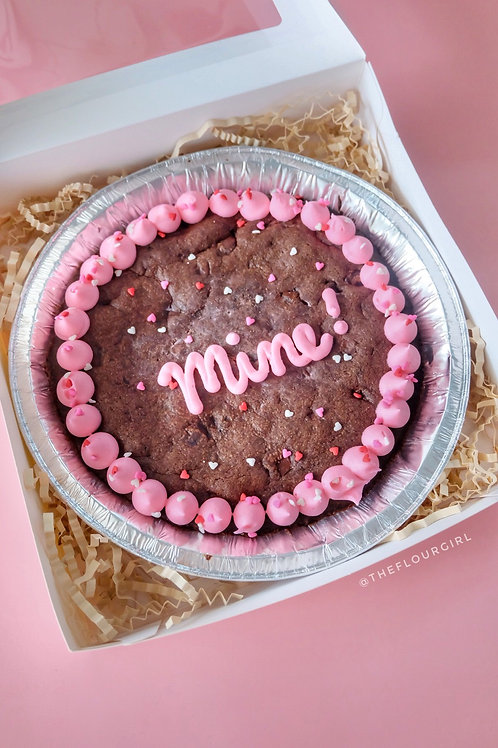 Personalized Cookie Pie