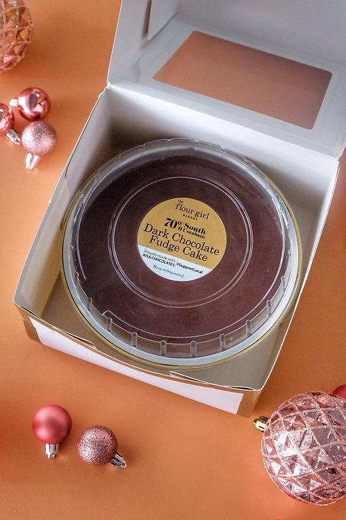 70% SOUTH COTABATODARK CHOCOLATE FUDGE CAKE