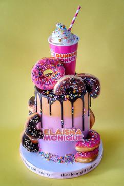 Dunkin Donut Cake