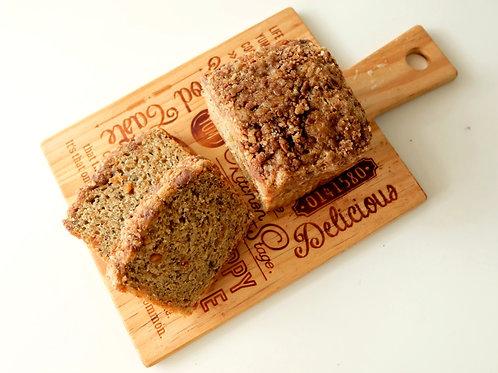 BANANA CHOCNUT BREAD
