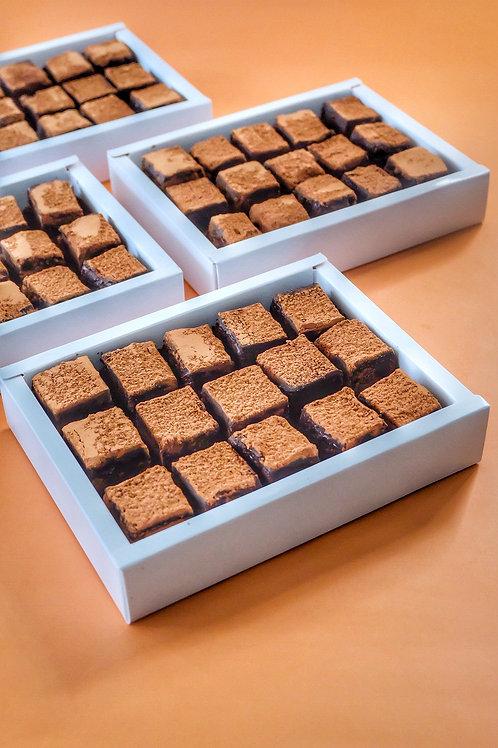 65% Malagos Truffle brownies