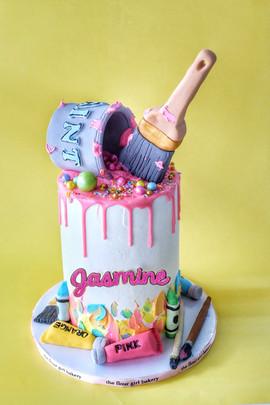 Art Attack Cake