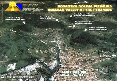 bosnische Pyramiden in Visoko