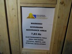 Schuhmann-Frequenz 7,83 Hz