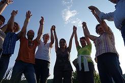 Retreatgruppe Mai 2016 an den Pyramiden