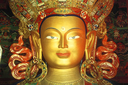 Klangmassage und Buddha