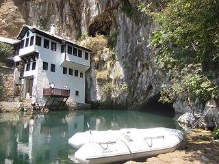 Haus der Derwische, Bild Derwischhaus Bosnien, Kraftort
