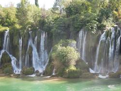 Kraftort Wasserfälle