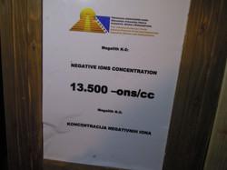 Negativ-Ionen-Konzentration