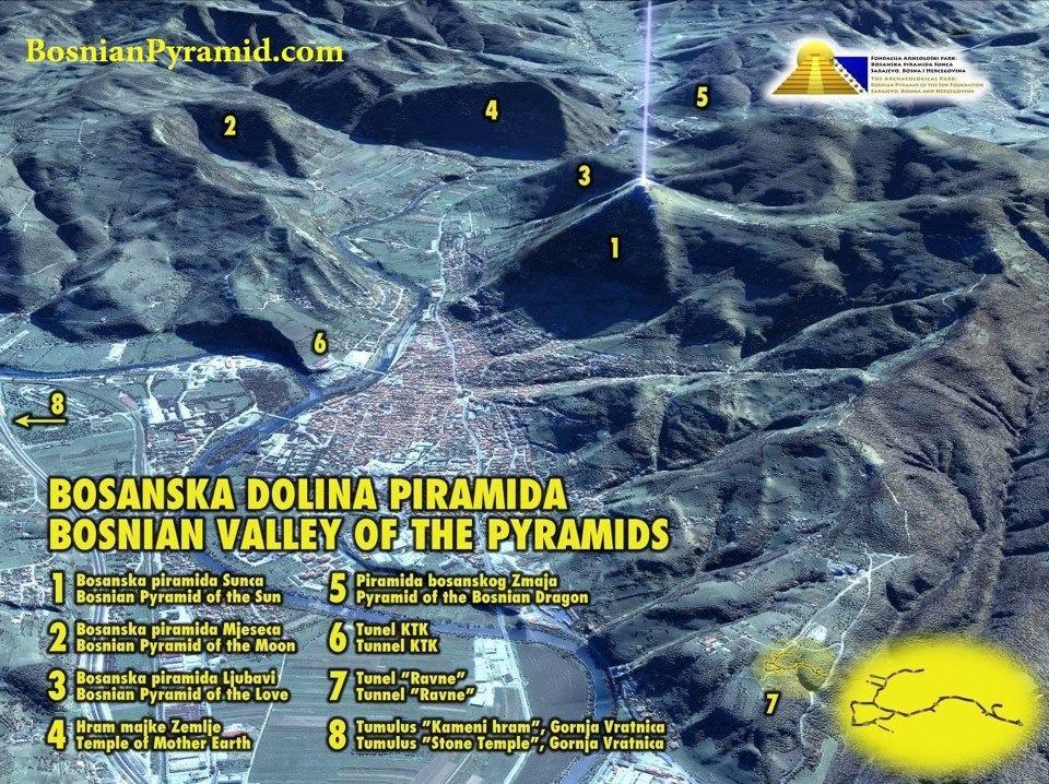 Pyramidenkomplex in Bosnien