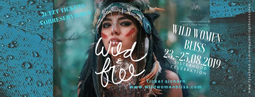 23.-25.08.2019 Wild Women Bliss - Sisterhood Celebration im Schwarzwald