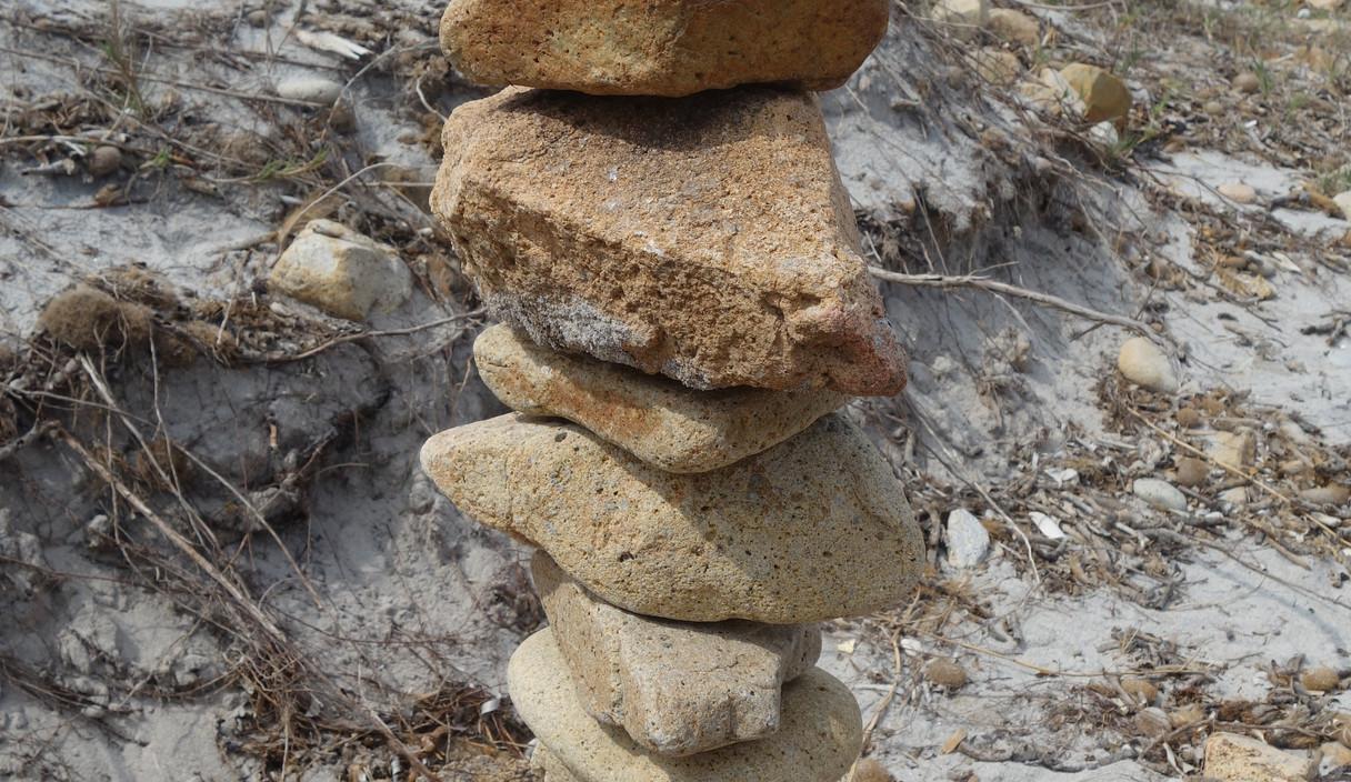 Zeit in Balance zu kommen