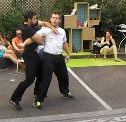 Démonstration Kung-Fu Self-Defense