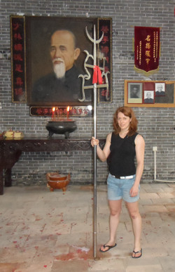 Stage Kung-Fu en Chine