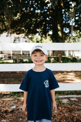 Items pictured: Youth White IOH Visor & Youth Navy Savannah Sound