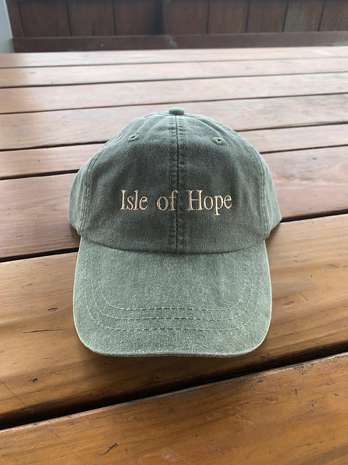 Ball Cap - WASHED GREEN