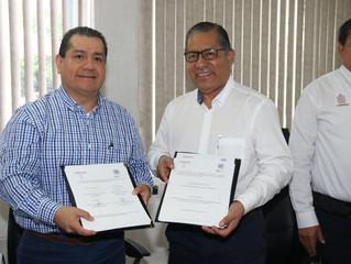 FIRMAN CONVENIO CENTROS EDUCATIVOS EN TABASCO.