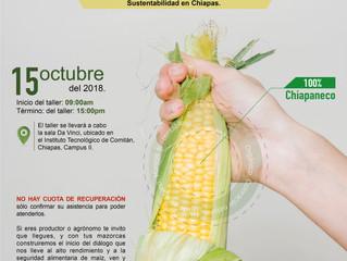 Taller deInducción Tecnológica al Alto Rendimiento de Cultivos con Manejos Sustentables.
