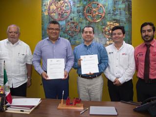 El IUP-Tabasco por la construcción  de la Industria Tecnológica Mexicana