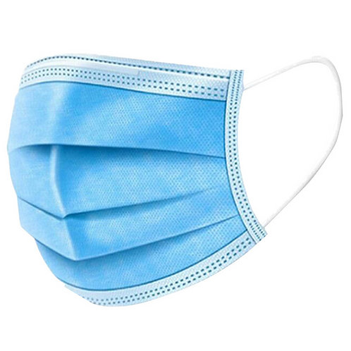 Disposable Blue Mask | 12 pcs
