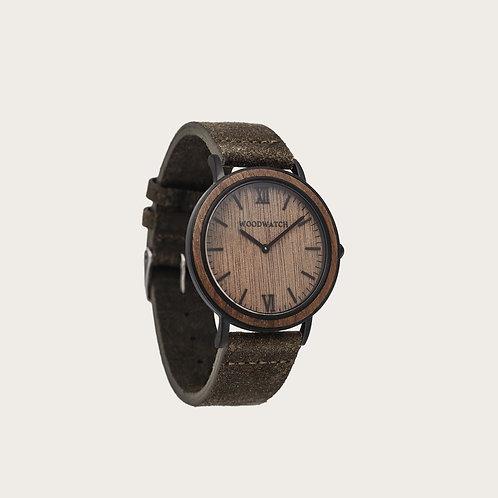 Brown Walnut Khaki Men's Watch