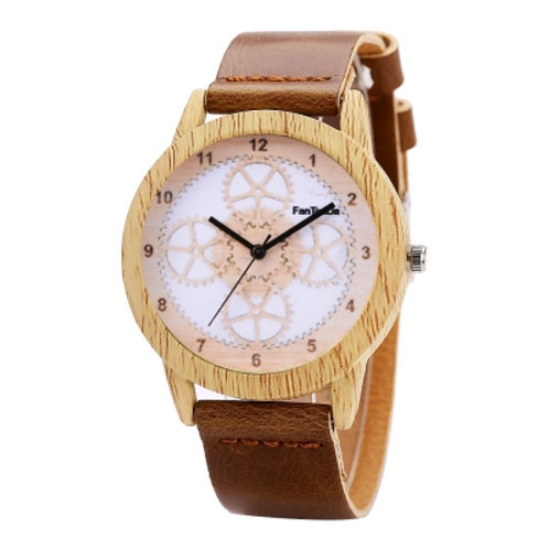 Unisex Fashion Wooden Watch