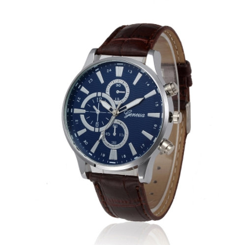 Men's Leather Watch Business Watch