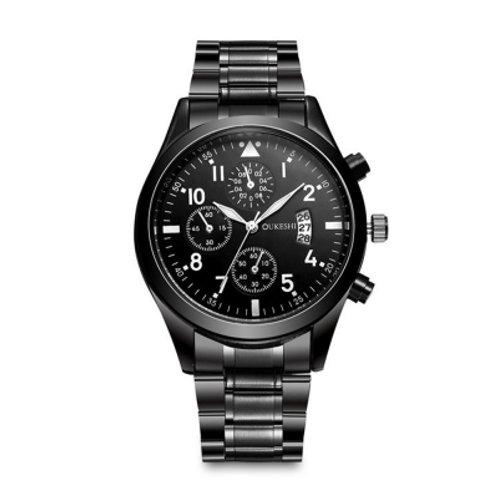 Male Business Quartz Wristwatch