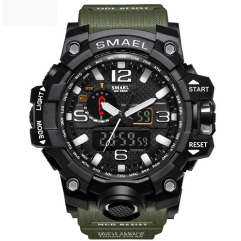 Men's Sports LED Digital Clock Watch