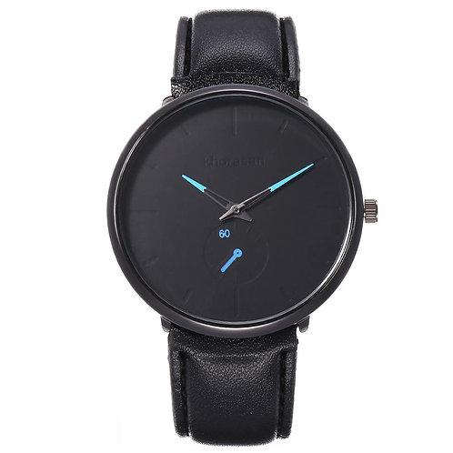 Single Eye Color Pointer Belt Men's Watch