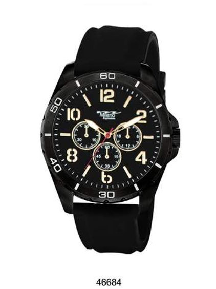 Milano Expressions Silicon Band Watch
