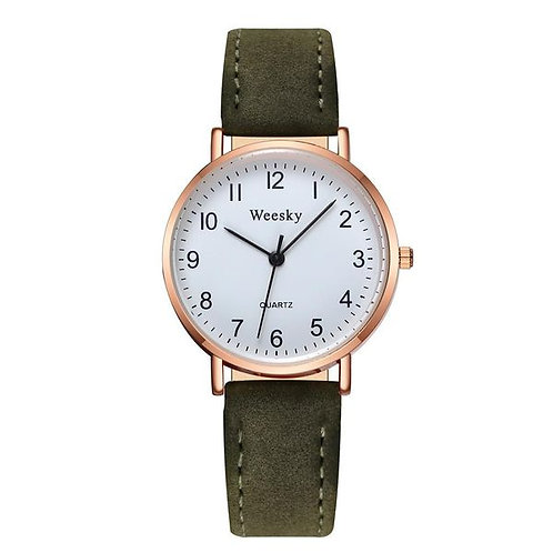 Fresh And Ultra-thin Casual Watch